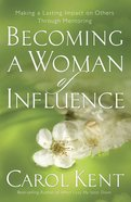 Becoming a Woman of Influence eBook