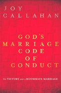 God's Marriage Code of Conduct eBook
