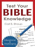 Test Your Bible Knowledge eBook