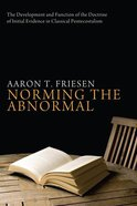 Norming the Abnormal Paperback
