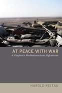At Peace With War Paperback
