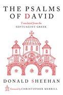 The Psalms of David Paperback