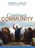 Contrast Community Hardback