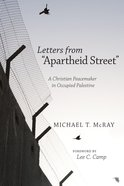Letters From Apartheid Street Paperback