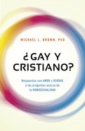 Gay Y Cristiano? (Can You Be Gay And Christian?) Paperback