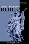 On Not Founding Rome eBook