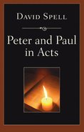 Peter & Paul in Acts eBook