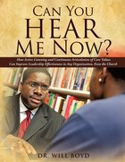 Can You Hear Me Now? eBook