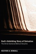God's Unfolding Story of Salvation eBook