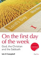 On the First Day of the Week eBook
