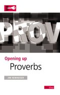 Proverbs (Opening Up Series) eBook