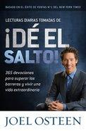 Lecturas Diarias Tomadas De D El Salto! (Daily Readings From Break Out!) Paperback