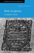 Holy Scripture Paperback
