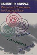 Behavioral Covenants in Congregations Paperback