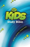 KJV Kids' Study Bible (Black Letter Edition) Hardback