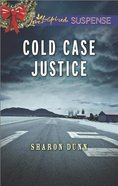 Cold Case Justice (Love Inspired Suspense Series) eBook