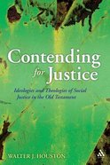 Contending For Justice Paperback