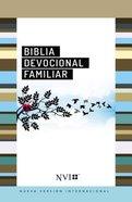 Nvi Biblia Devocional Familiar (Red Letter Edition) (Family Devotional Bible Spanish Nvi)