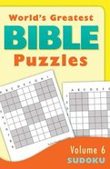 Sudoku (#06 in World's Greatest Bible Puzzles Series) Paperback