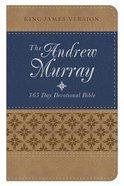 KJV Andrew Murray 365 Day Devotional Bible Blue/Mustard Flexi Back