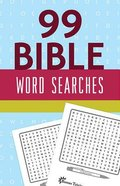 99 Bible Word Searches Paperback