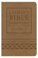 Galatians Thru Philemon (Deluxe Handy Size) (#11 in Layman's Bible Commentary Series) Imitation Leather