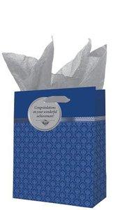 Gift Bag Medium: Graduation Dark Blue