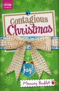 Contagious Christmas Memory Booklets (10 Pack)