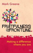 Fruitfulness on the Frontline Paperback