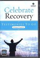 Testimonies to Go DVD (Volume 9 & 10) (Celebrate Recovery Series) DVD
