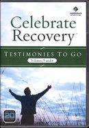 Testimonies to Go DVD (Volume 5 & 6) (Celebrate Recovery Series) DVD