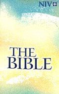 NIV Larger Type Paperback: The Bible