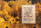 Windows Easeled Glass Plaque: Blessed is the Man, Dad (Jeremiah 17:7) Plaque