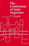 The Confessions of St Augustine Paperback