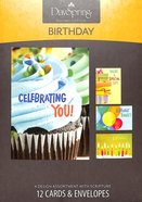 Boxed Cards Birthday: Bright Birthday Box