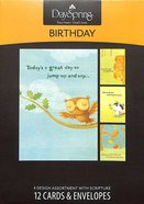 Boxed Cards Birthday: Happy Critters Box