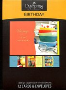 Boxed Cards Birthday: Collectible Wishes