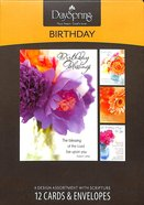 Boxed Cards Birthday: Flowers of Joy