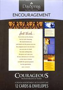 Boxed Cards Encouragement: Courageous