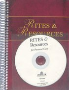 Rites and Resources For Pastoral Care