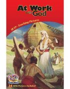 Dlc B1: At Work With God Teaching Pictures Ages 6-8 (Discipleland Level 1, Ages 6-8, Qtrs Abcd Series)