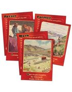 Dlc B1: At Work With God Bible Cards Ages 6-8 (Discipleland Level 1, Ages 6-8, Qtrs Abcd Series)