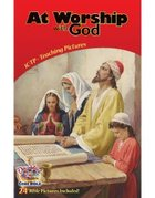Dlc C1: Discovering God's Greatness Teaching Pictures Ages 6-8 (At Worship With God) (Discipleland Level 1, Ages 6-8, Qtrs Abcd Series)