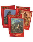 Dlc C1: Discovering God's Greatness Bible Cards Ages 6-8 (At Worship With God (Discipleland Level 1, Ages 6-8, Qtrs Abcd Series)