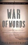 War of Words Paperback