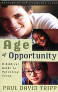 Age of Opportunity (2nd Edition) Paperback