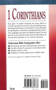 1 Corinthians: Problems & Solutions in a Growing Church (Fisherman Bible Studyguide Series) Paperback