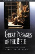 Great Passages of the Bible (Fisherman Bible Studyguide Series) Paperback
