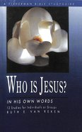 Who is Jesus?: In His Own Words (Fisherman Bible Studyguide Series) Paperback