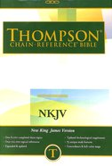 NKJV Thompson Chain Reference Bible Hardback